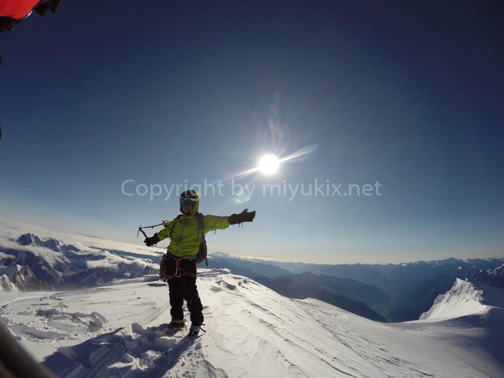 Mt.MontBlanc 旧ヨーロッパ最高峰モンブラン登頂(4810m)