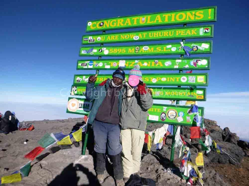 MtKilimanjaro アフリカ大陸 キリマンジャロ登頂 (5895m)