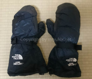 手袋/ダウンミトン 防水透湿