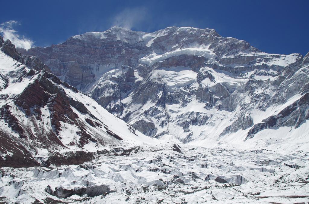 Mt Aconcagua south face アコンカグア南壁