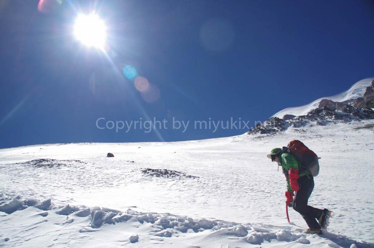 アコンカグア登山5日目 いよいよ上部キャンプC1へ Aconcagua Expedition