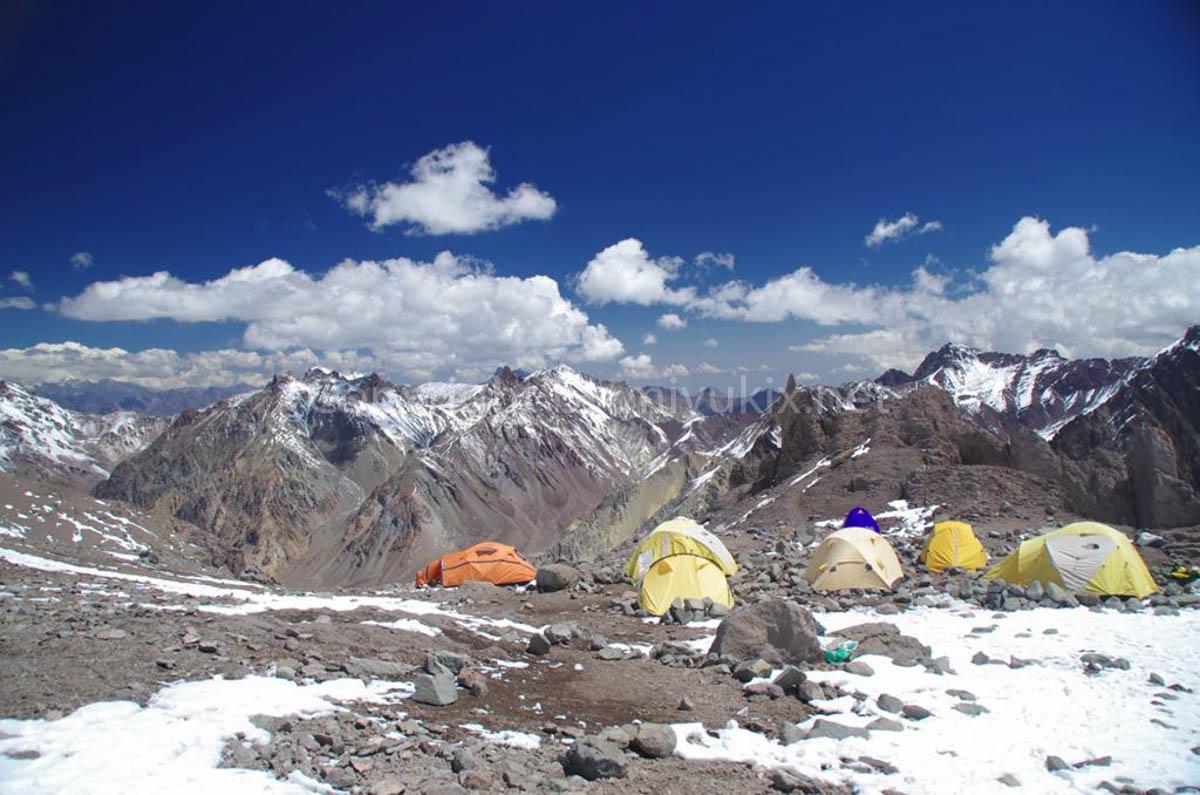 アコンカグア登山4日目 C1アラスカ(4900m)Alaska Aconcagua Expedition