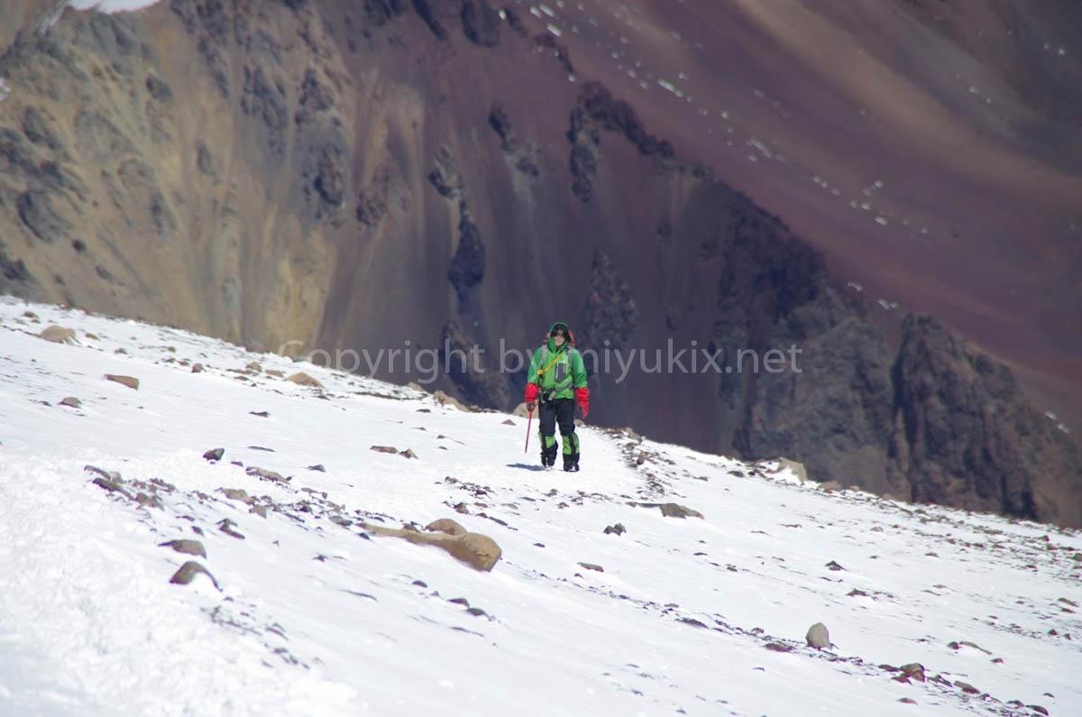 アコンカグア登山6日目 ひたすら登る Aconcagua Expedition