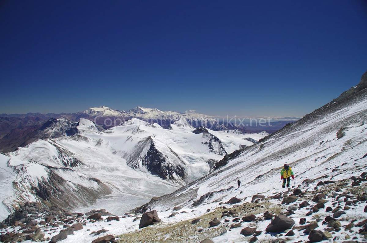 アコンカグア登山7日目 6000mの世界へ Aconcagua Expedition