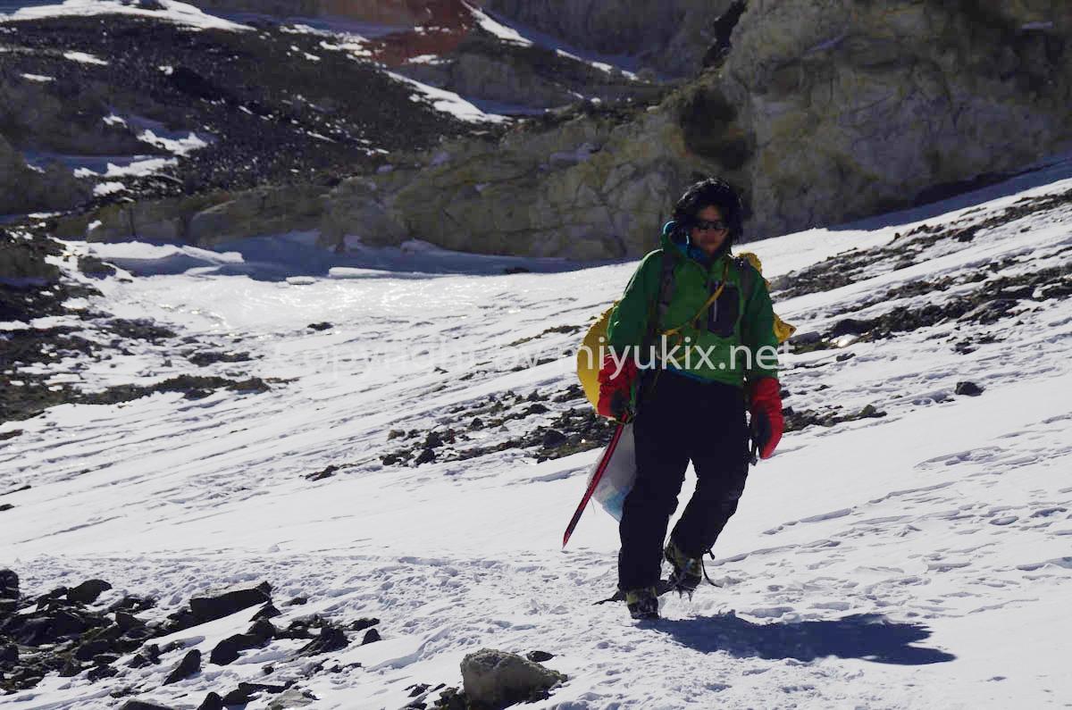 下山 アコンカグア登山9日目 BCへ! Aconcagua Expedition