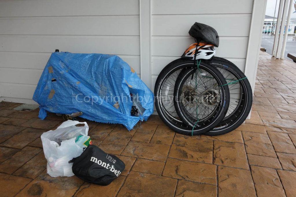 インターシティーに自転車を乗せる(輪行)