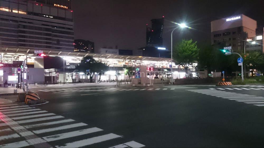 深夜のセントレア(中部国際空港)唯一の脱出方法 名古屋駅行のバス降り場