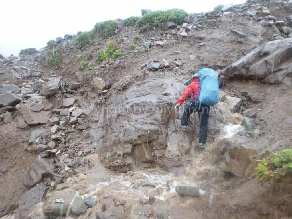 アコンカグア登山1日目 いきなり雨!