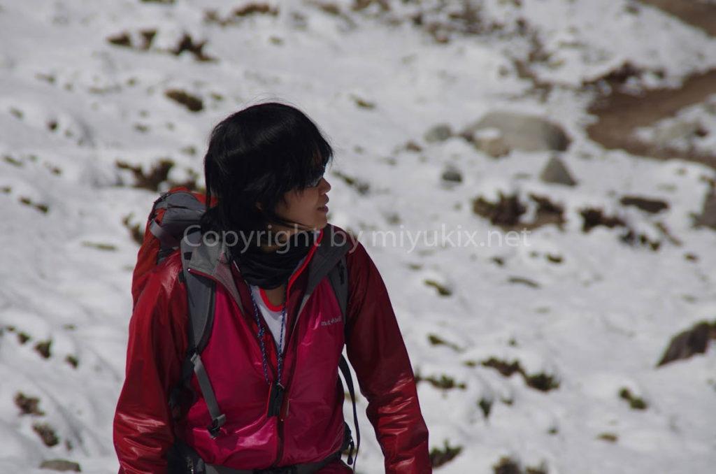 アコンカグア登山2日目 アコンカグア南壁までお散歩 Aconcagua south face