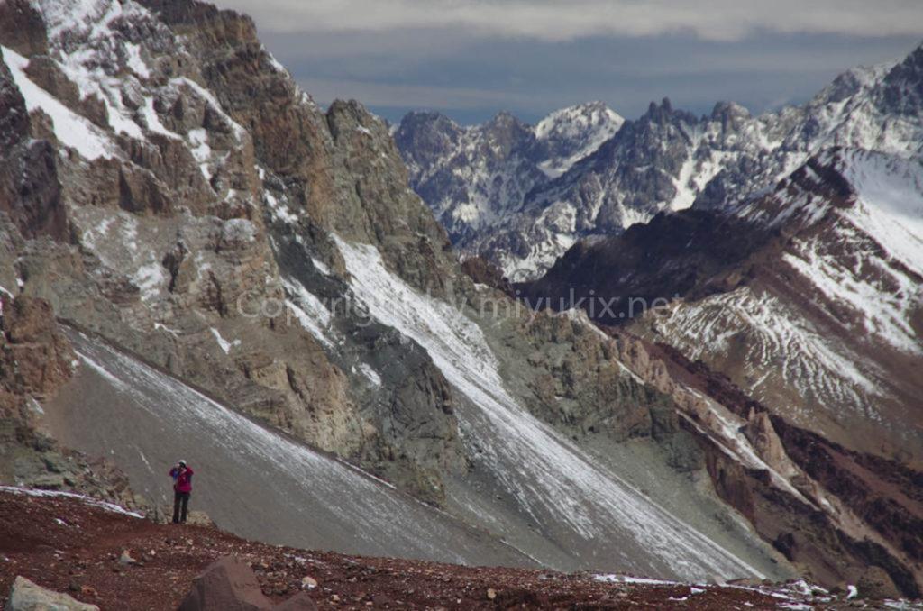 アコンカグア登山3日目 登山者の基地・ベースキャンプへ Aconcagua BC Plaza de Mulas