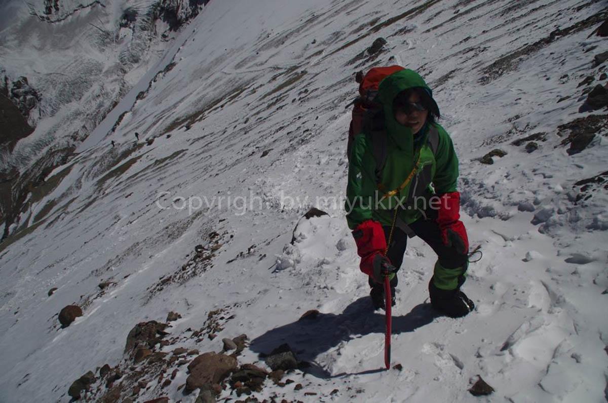 アコンカグア登山6日目 登るか下りるか ビエント・ブランコ(viento blanco) Aconcagua Expedition