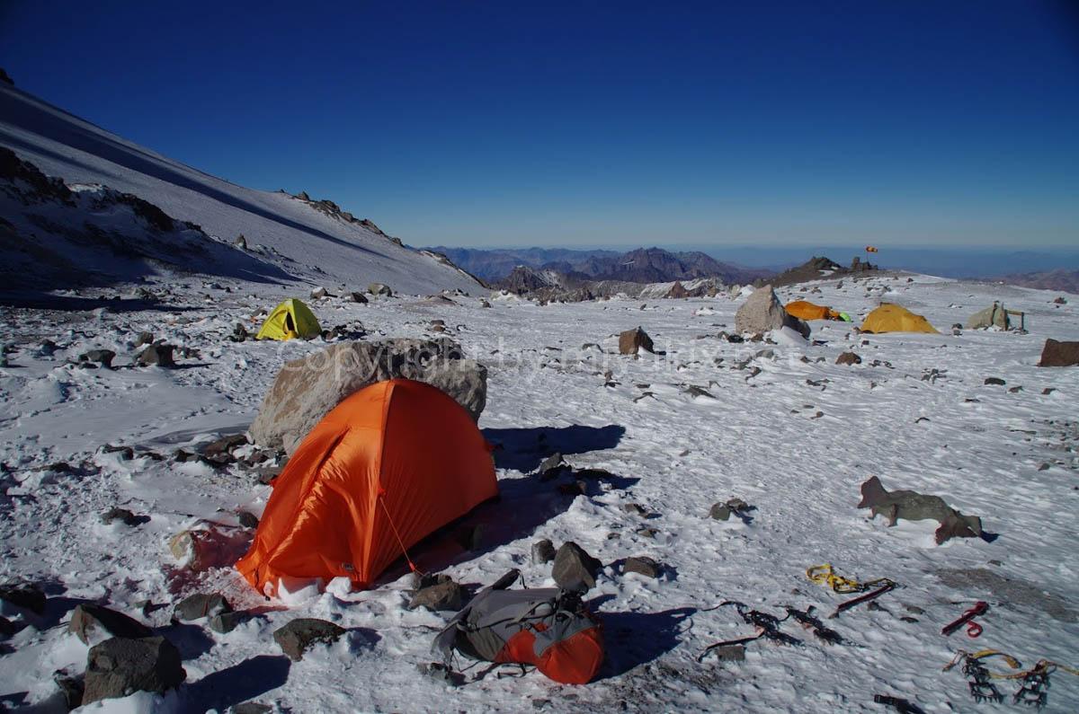 アコンカグア登山7日目 6000mの世界へ Nido de Condores Aconcagua Expedition