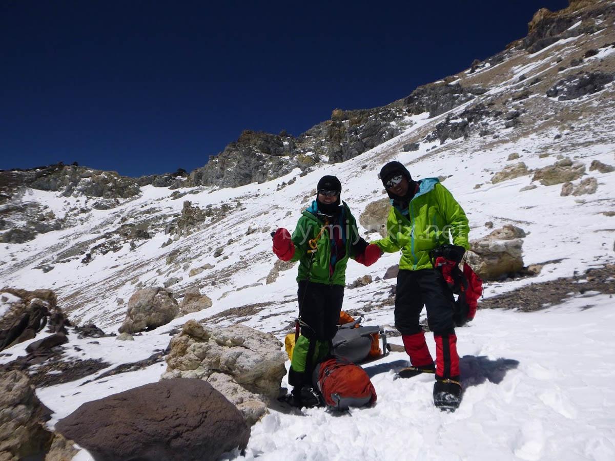 アコンカグア登山7日目 ベルリンキャンプにて Berlin Aconcagua Expedition