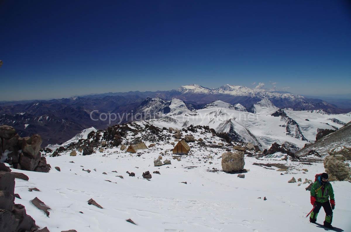 アコンカグア登山7日目 ベルリンキャンプを後にする  Berlin Aconcagua Expedition
