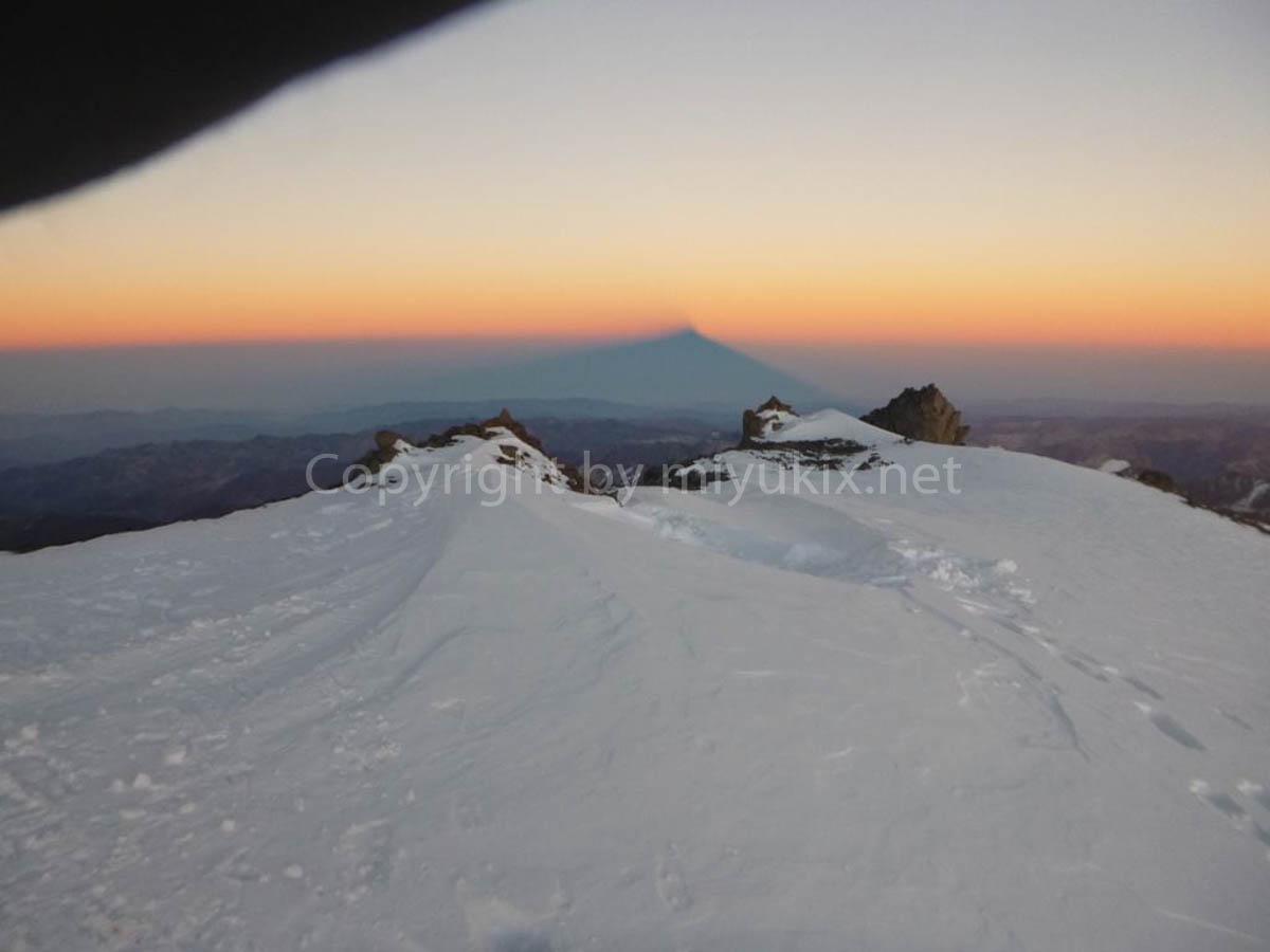 アコンカグア登山8日目・アタック日 アコンカグアの影 Day of Attack Aconcagua Expedition