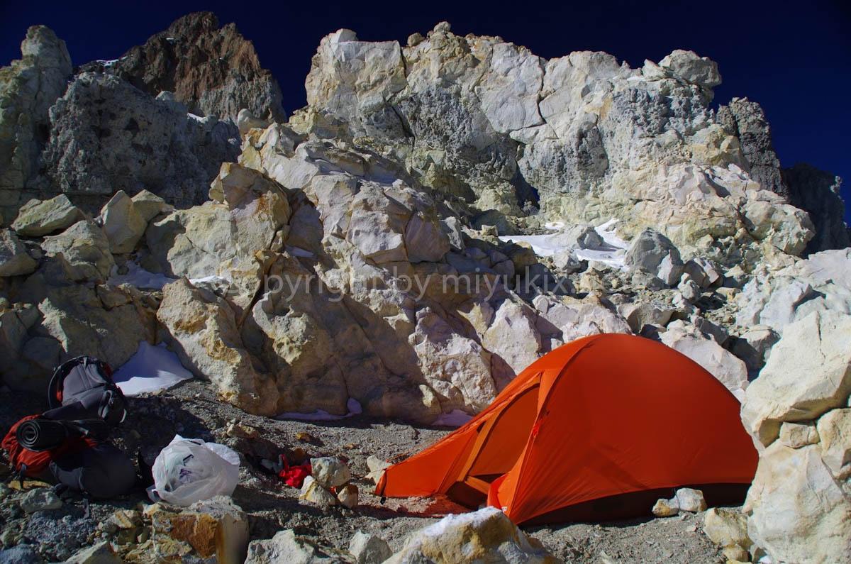 下山 C3ホワイトロック到着 アコンカグア登山8日目・アタック日 Aconcagua Expedition