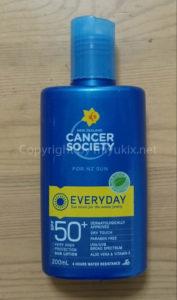 ニュージーランドの日焼け止め:キャンサー・ソサエティ/Cancer Society