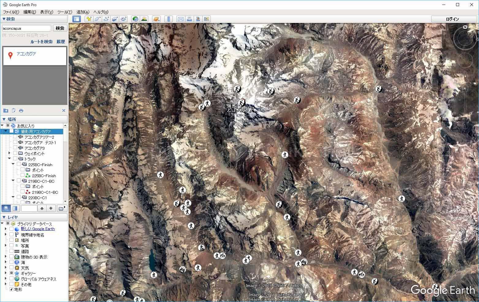 Garmin用GPSデータをgoogle earth からダウンロードする方法