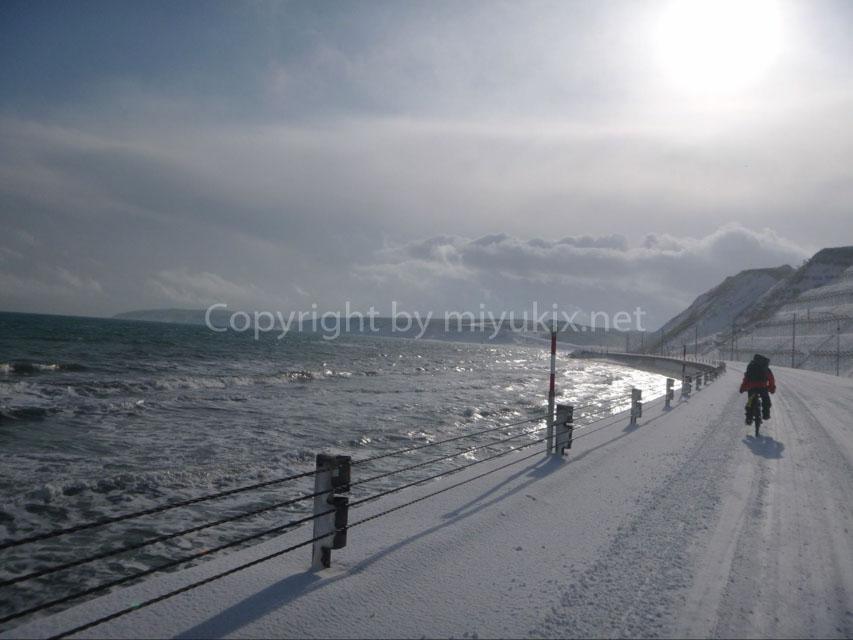 【厳冬期・北海道】ただのOLが行く!日本の最北端・宗谷岬へ年越し自転車旅行!①
