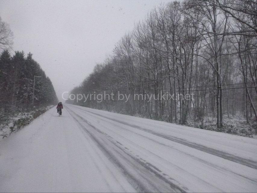 【厳冬期・北海道】女子でも行ける!日本の最北端・宗谷岬へ年越し自転車旅行!2(実践編)
