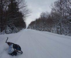 女ぼっちで厳冬期・北海道を自転車MTB旅行したら超楽しかった件(1)