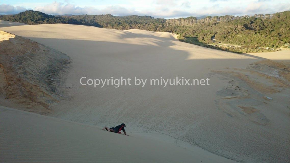 ニュージーランドの最北へ!30代OLの自転車テントぶらり旅行9日目~年越しキャンプと初日の出は砂丘!の巻~